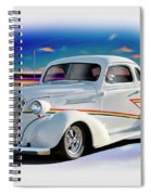 1937 Chevrolet Coupe 'accent Graphics' Spiral Notebook