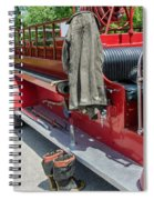 1937  Chevy Fire Engine Spiral Notebook