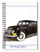 1937 Chrysler Airflow  Spiral Notebook