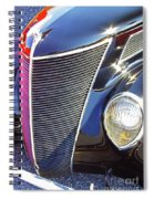 1937 Ford 2 Door Sedan Spiral Notebook