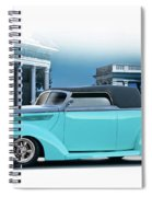 1937 Ford 'classic' Cabriolet Spiral Notebook