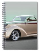 1937 Ford 'high End' Coupe I Spiral Notebook