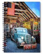 1937 Ford Pickup Truck Spiral Notebook