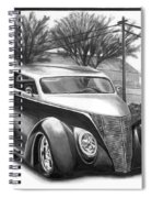 1937 Ford Sedan Spiral Notebook