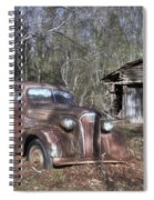 1937 Revisited Spiral Notebook