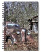 1937 Revisited Spiral Notebook
