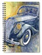 1937 Skoda Popular Sport Monte Carlo Spiral Notebook