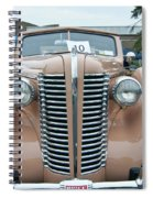 1938 Buick 2087 Spiral Notebook