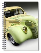 1938 Hot Rod Ford Coupe Spiral Notebook