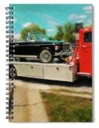 1938 Studebaker Cab Over Spiral Notebook