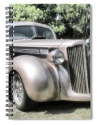 1939 Packard Coupe Spiral Notebook
