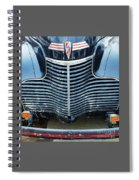 1940 Chevy Roadster Grill Spiral Notebook