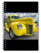 1940 Ford Deluxe Coupe Spiral Notebook