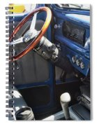 1940 Ford Truck Interior Spiral Notebook