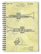 1940 Trumpet Patent Spiral Notebook