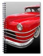 1940s Custom Chrysler New Yorker In Red Spiral Notebook