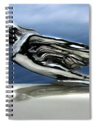1941 Cadillac Emblem Abstract Spiral Notebook