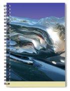 1941 Cadillac Mascot Spiral Notebook