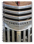 1941 Chevy - Chevrolet Pickup Grille Spiral Notebook