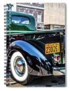 1941 Chevy Truck Spiral Notebook