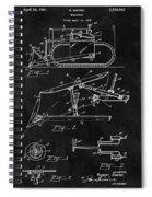 1941 Construction Bulldozer Spiral Notebook