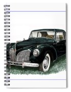1941 Lincoln Continental Mk 1 Spiral Notebook