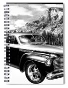 1941 Roadmaster - Half Dome Spiral Notebook