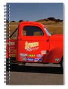 1941 Willys Drag Racing Spiral Notebook