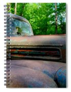 1942 Ford Spiral Notebook