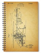 1943 Helicopter Patent Spiral Notebook
