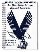 1943 Victory Book Campaign Spiral Notebook
