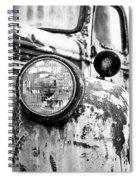 1946 Chevy Work Truck - Headlight Detail Spiral Notebook