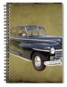 1946 Dodge D24c Sedan Spiral Notebook