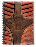 1946 Dodge Pickup Truck Rusty Grill Spiral Notebook