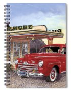 1946 Ford Deluxe Coupe Spiral Notebook