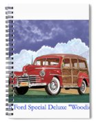 1946 Ford Woody Spiral Notebook