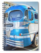 1946 Greyhound Spiral Notebook