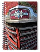 1946 International Harvester Truck Grill Spiral Notebook