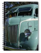 1947 Ford Cab Over Truck Spiral Notebook