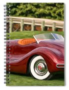 1948 Buick Streamliner Spiral Notebook