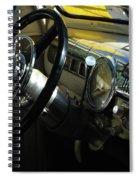 1948 Ford Super Deluxe Dash Spiral Notebook