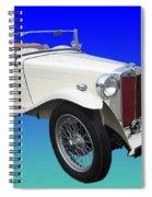 1948 Mg Tc Spiral Notebook