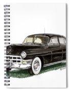 1949 Cadillac Fleetwood Sedan Spiral Notebook