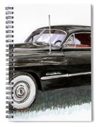 1949 Cadillac Sedanette Spiral Notebook