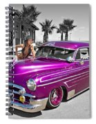 1949 Chevy Bomb_ 25a Spiral Notebook