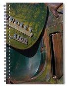 1950 Chevrolet Pickup Truck Emblem Spiral Notebook