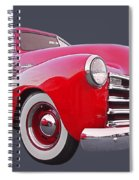 1950 Chevy Pick Up At Sunset Spiral Notebook