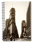 1950 Times Square New York Spiral Notebook