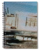 1950's - At The Hopi Village Spiral Notebook