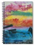 1950's - In The Hopi Village Spiral Notebook